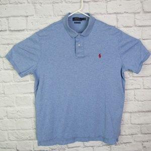Polo Ralph Lauren Men's Large Blue Pima Soft Touch